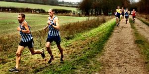 The Spartans at Royston Cross Country 2016